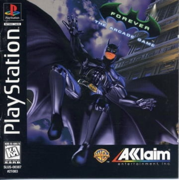 Cover zu Batman Forever: The Arcade Game