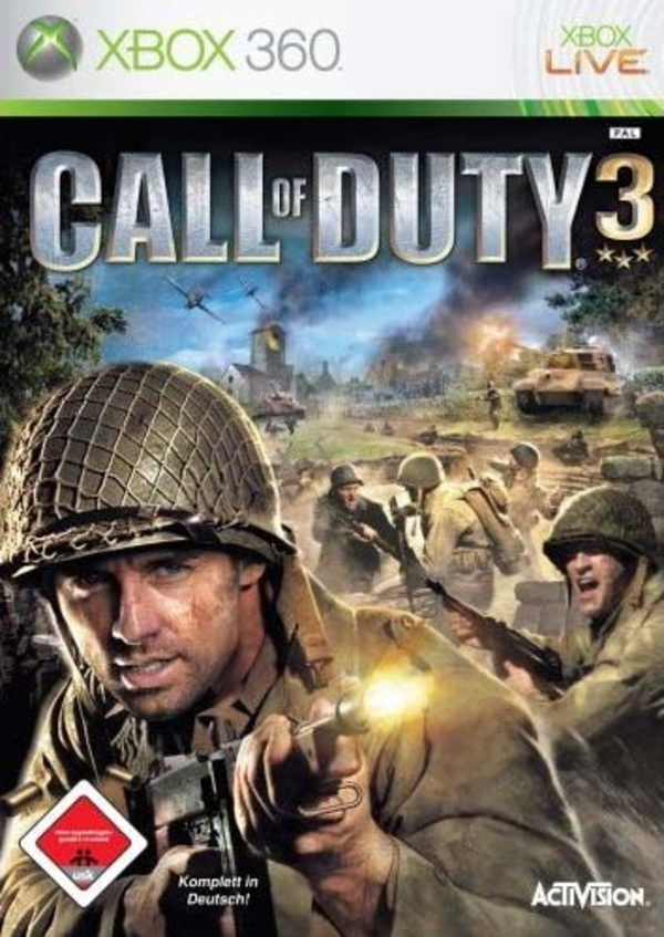 Cover zu Call of Duty 3