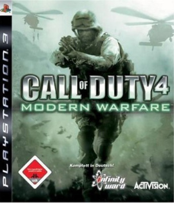 Cover zu Call of Duty 4: Modern Warfare
