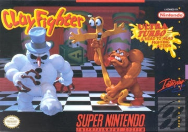 Cover zu Clayfighter