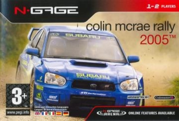Cover zu Colin McRae 2005