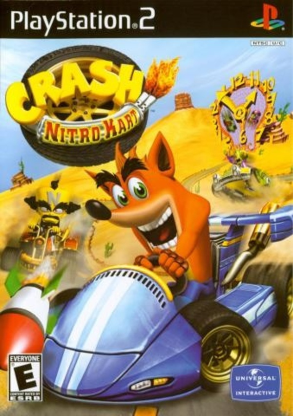 Cover zu Crash Nitro Kart