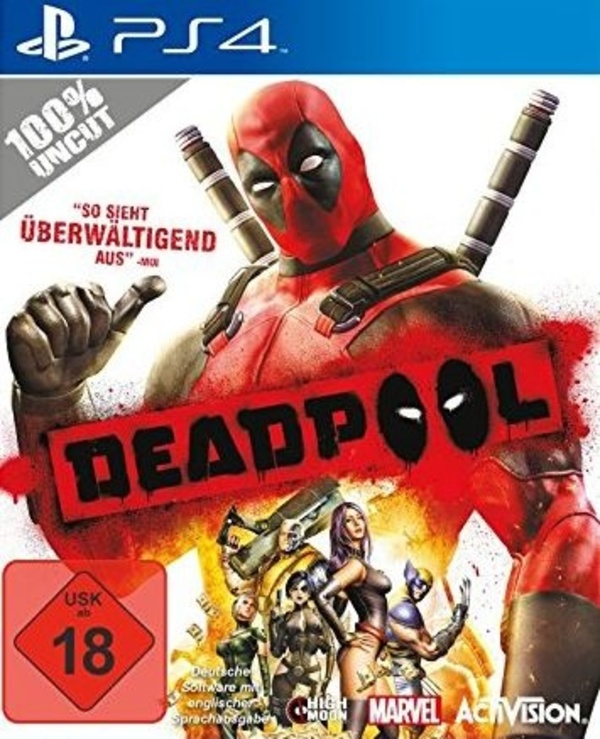 Cover zu Deadpool