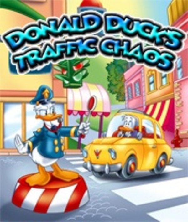 Cover zu Donald Duck's Traffic Chaos