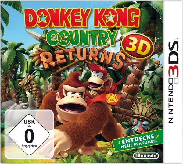 Cover zu Donkey Kong Country Returns 3D