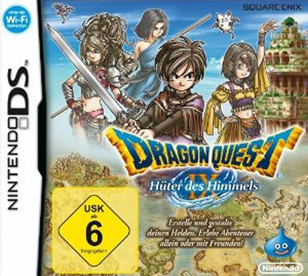 Cover zu Dragon Quest IX: Hüter des Himmels