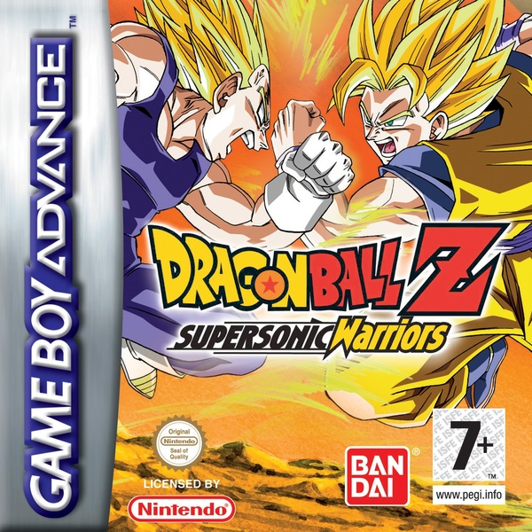 Cover zu Dragonball Z: Supersonic Warrior