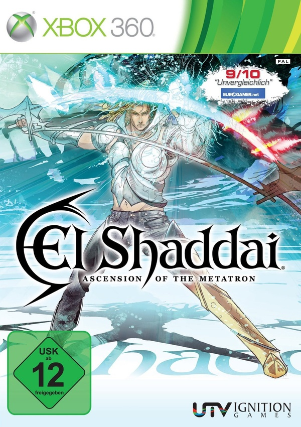 Cover zu El Shaddai: Ascension of the Metatron