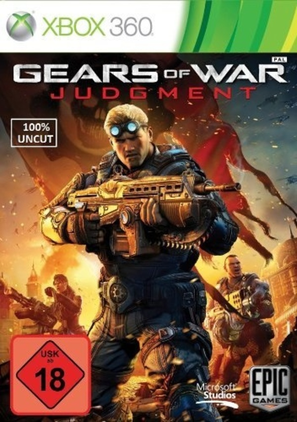 Cover zu Gears of War: Judgment