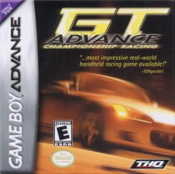 Cover zu GT Advance Championship Racing