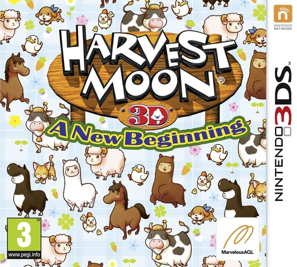 Cover zu Harvest Moon: A New Beginning