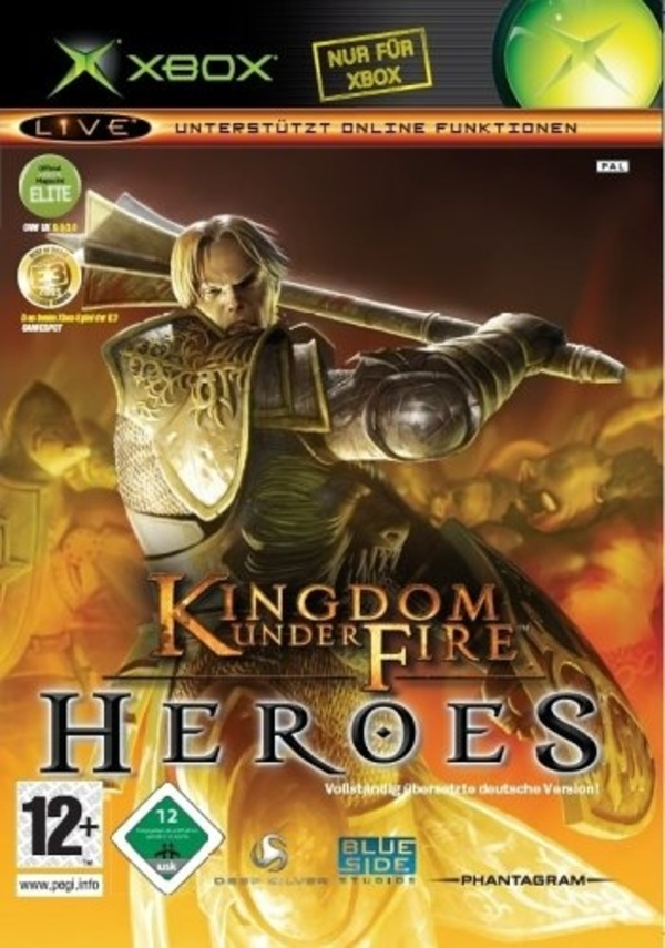 Cover zu Kingdom Under Fire: Heroes