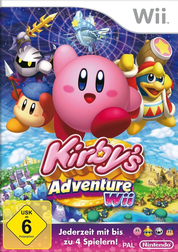Cover zu Kirby's Adventure Wii