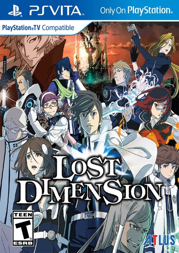 Cover zu Lost Dimension