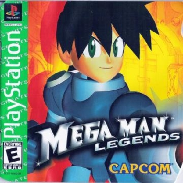 Cover zu Mega Man Legends