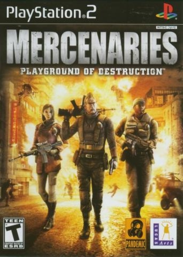 Cover zu Mercenaries