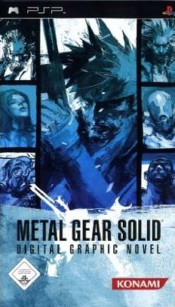 Cover zu Metal Gear Solid: Digital Graphic Novel