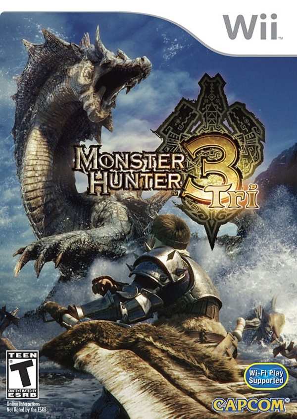 Cover zu Monster Hunter Tri