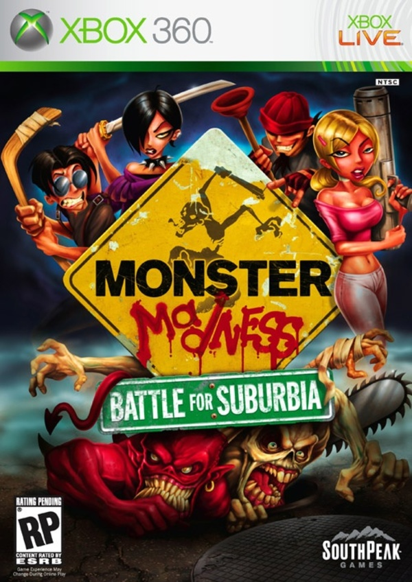 Cover zu Monster Madness