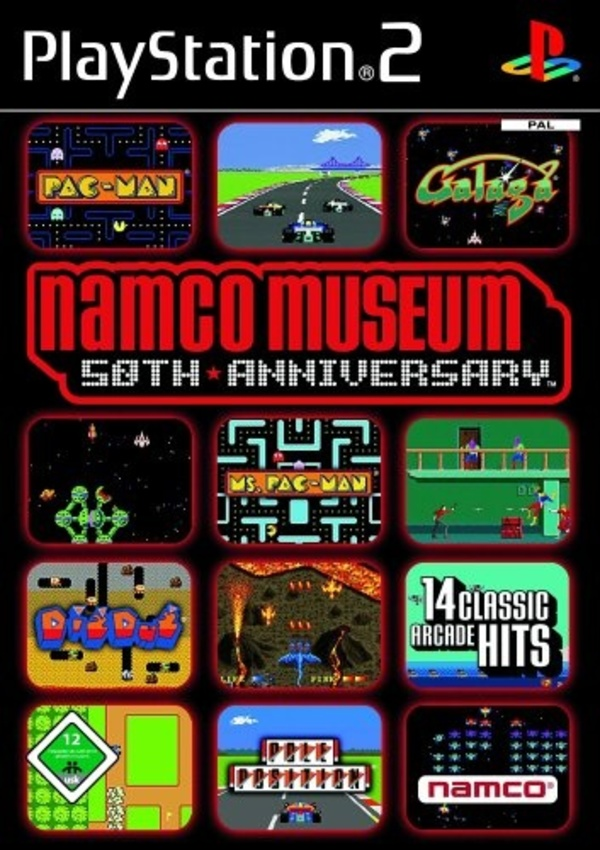 Cover zu Namco Museum: 50th Anniversary-Collection