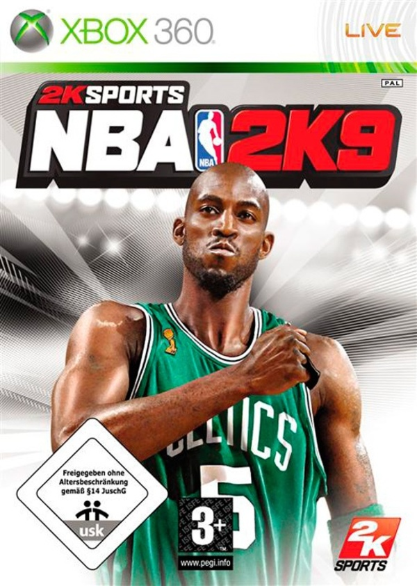 Cover zu NBA 2K9
