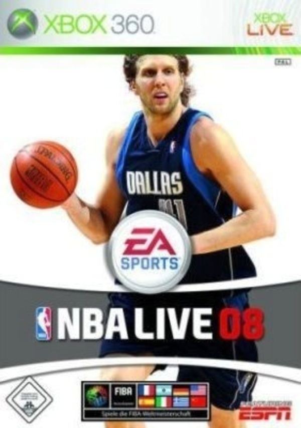 Cover zu NBA Live 08