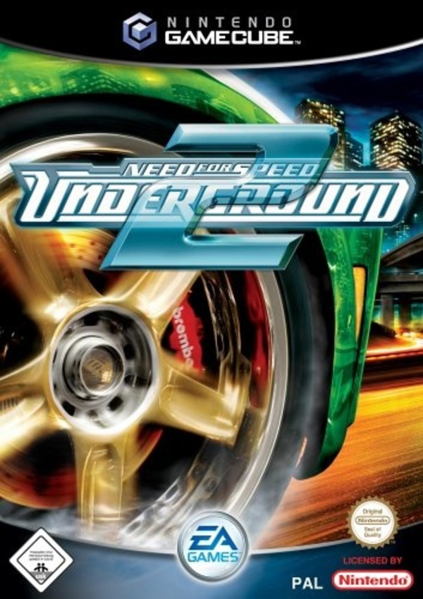 Cover zu Need for Speed Underground 2