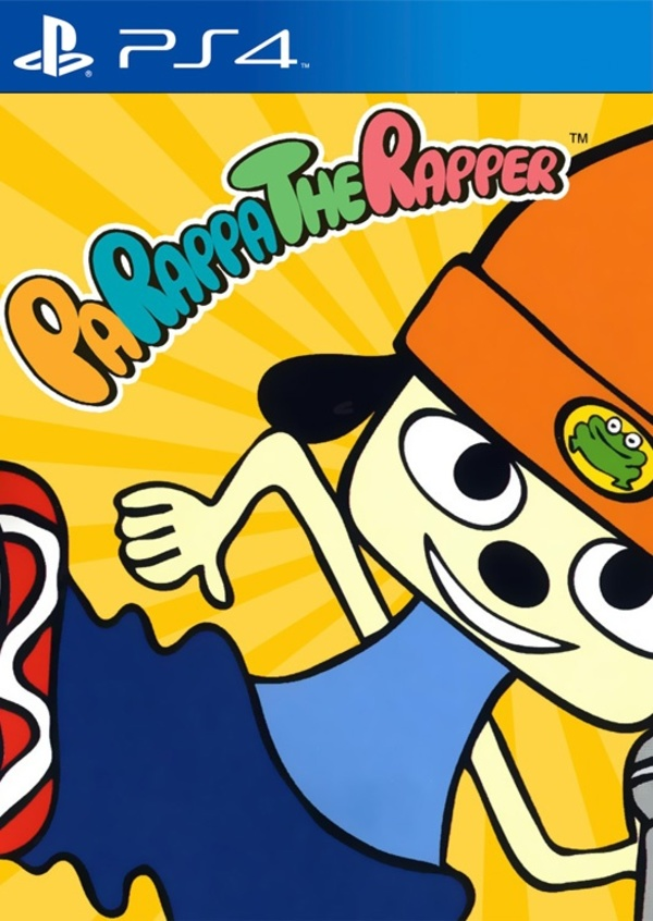 Cover zu PaRappa the Rapper Remastered