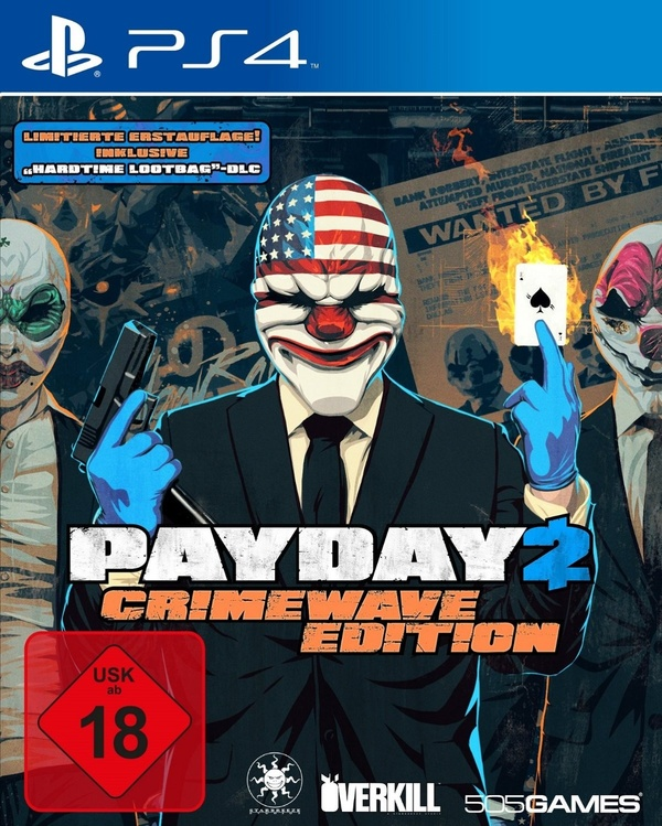 Cover zu PayDay 2: CrimeWave Edition