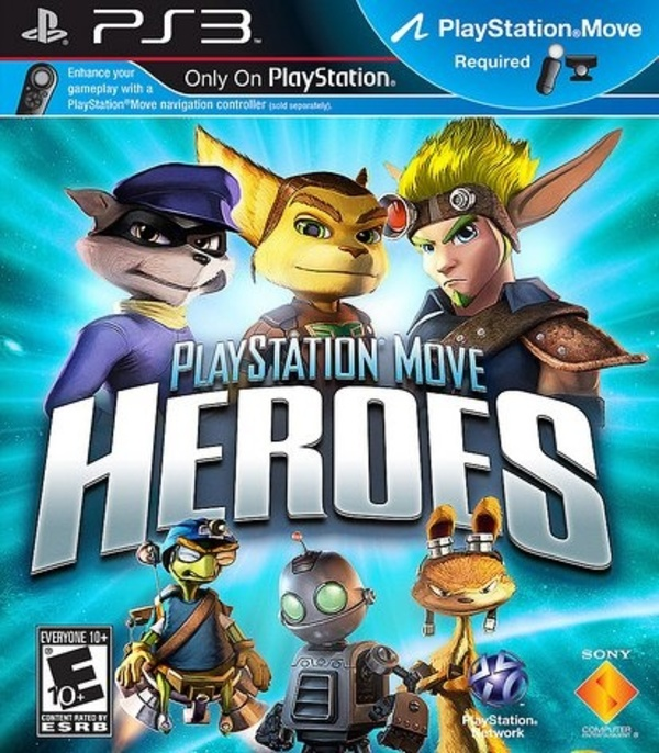 Cover zu PlayStation Move Heroes