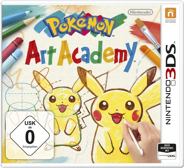Cover zu Pokémon Art Academy