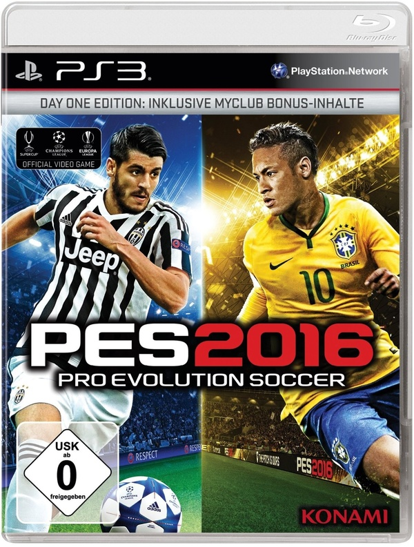 Cover zu Pro Evolution Soccer 2016