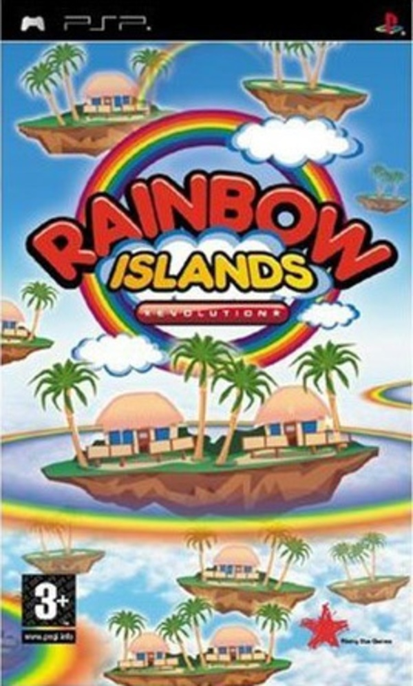 Cover zu Rainbow Islands Evolution