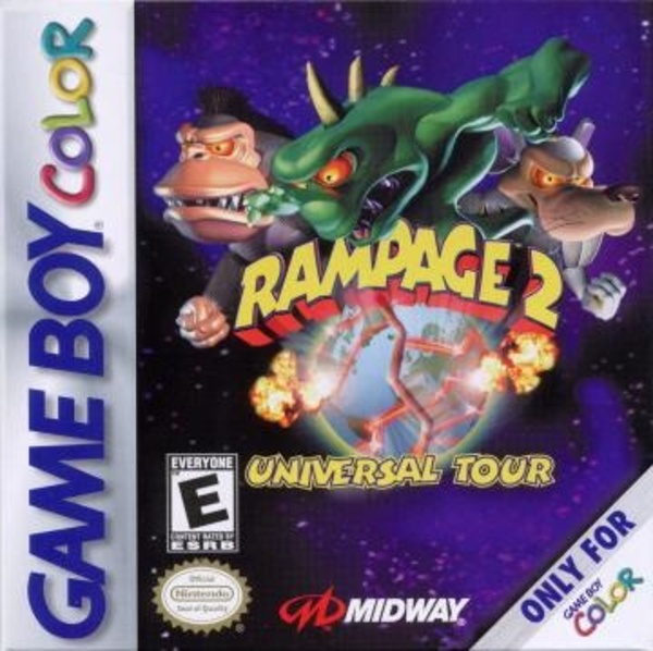 Cover zu Rampage 2: Universal Tour