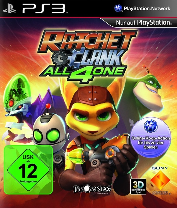 Cover zu Ratchet & Clank: All 4 One