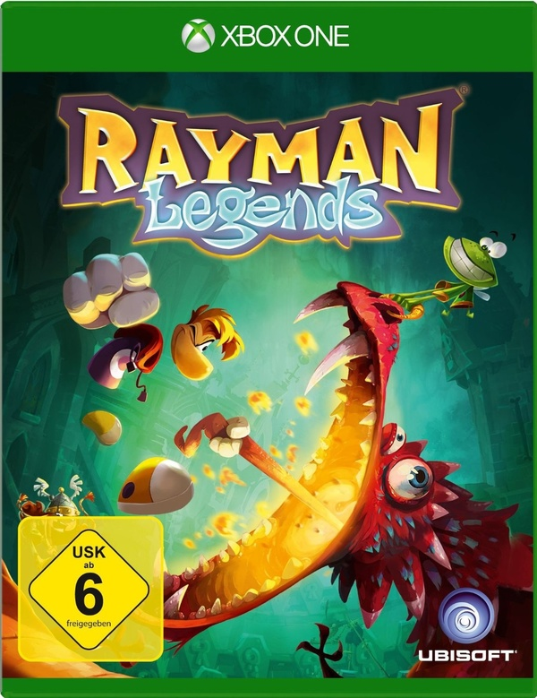 Cover zu Rayman Legends
