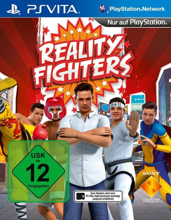 Cover zu Reality Fighters