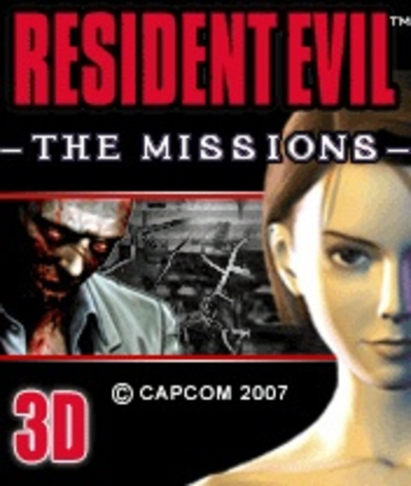 Cover zu Resident Evil: The Missions 3D
