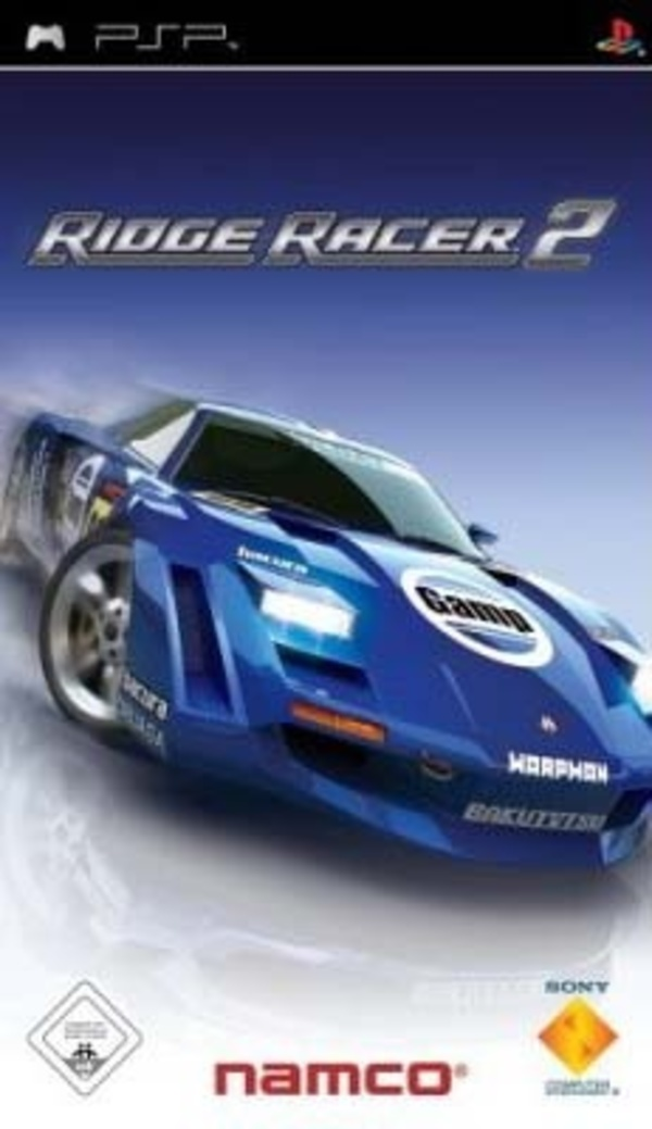 Cover zu Ridge Racer 2