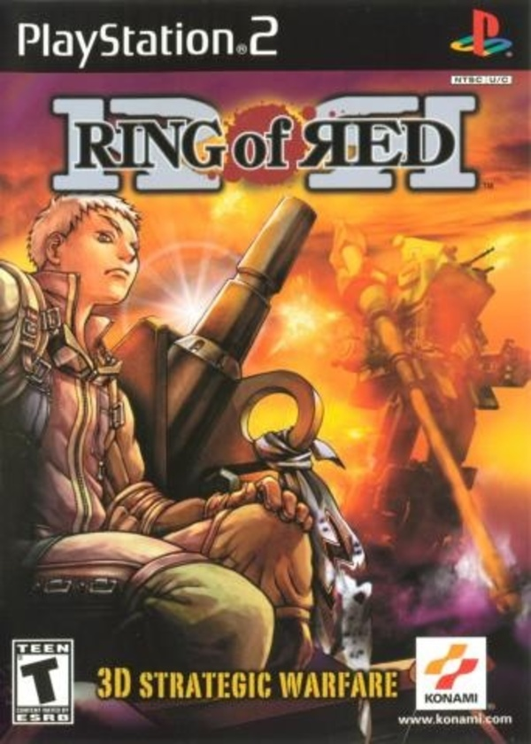 Cover zu Ring of Red