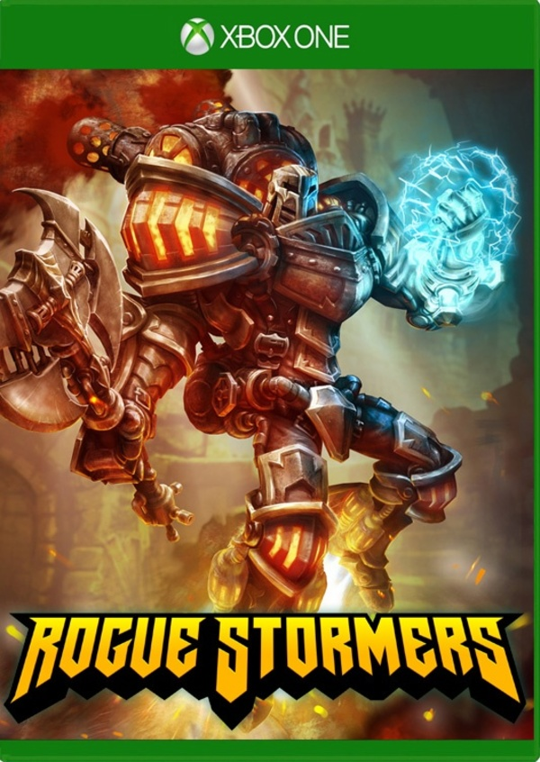 Cover zu Rogue Stormers