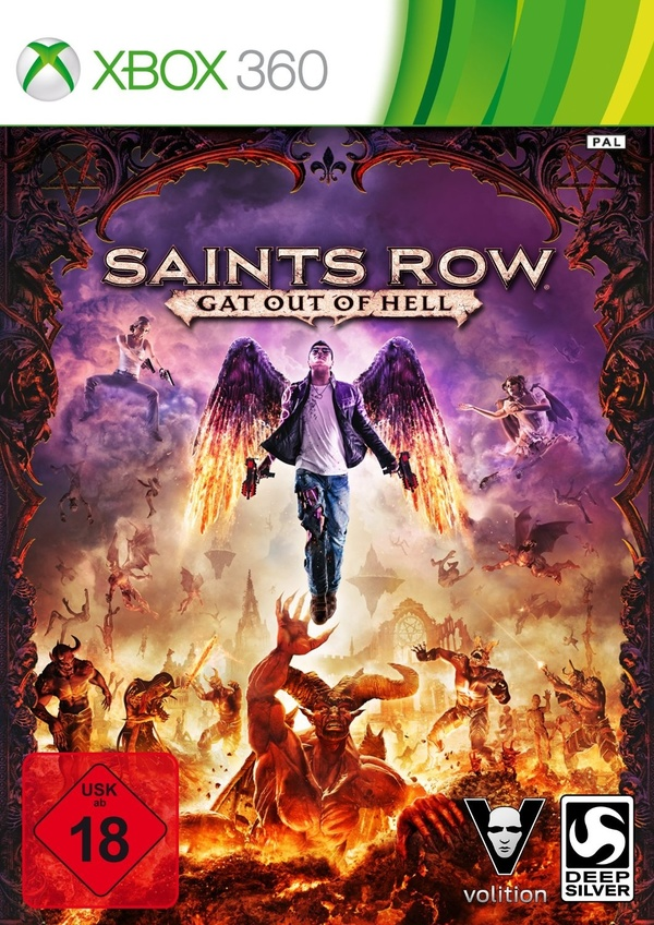 Cover zu Saints Row: Gat Out of Hell
