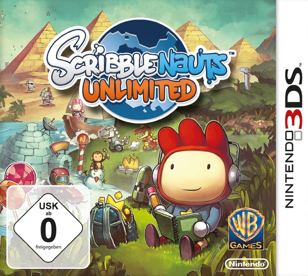 Cover zu Scribblenauts Unlimited