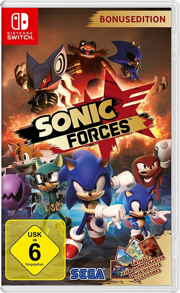 Cover zu Sonic Forces