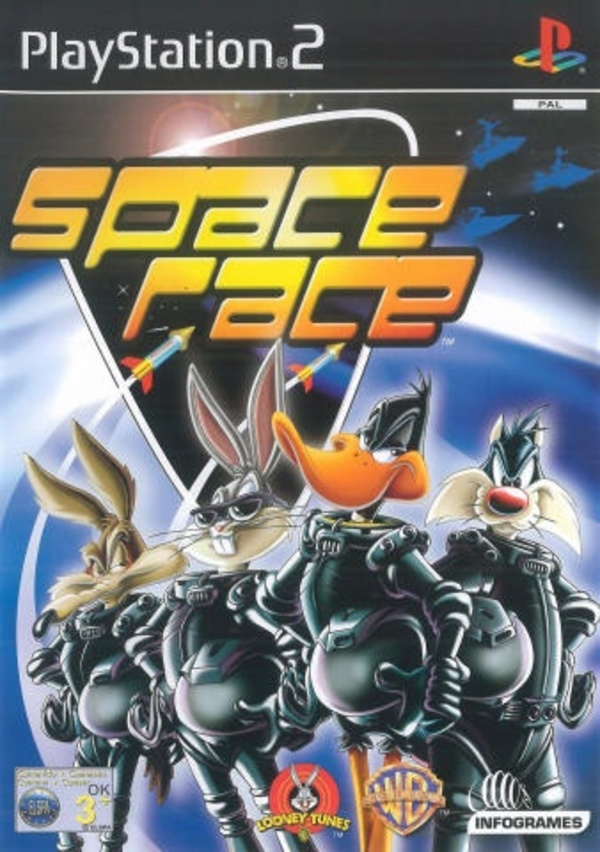 Cover zu Looney Tunes Space Race