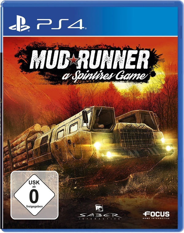 Cover zu Spintires: Mud Runner