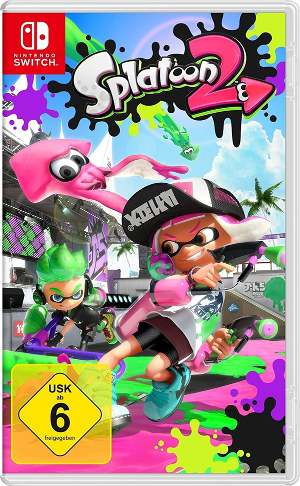 Cover zu Splatoon 2