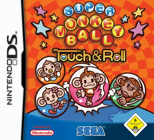 Cover zu Super Monkey Ball: Touch & Roll