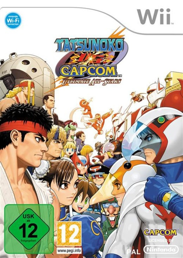 Cover zu Tatsunoko vs. Capcom: Ultimate All-Stars