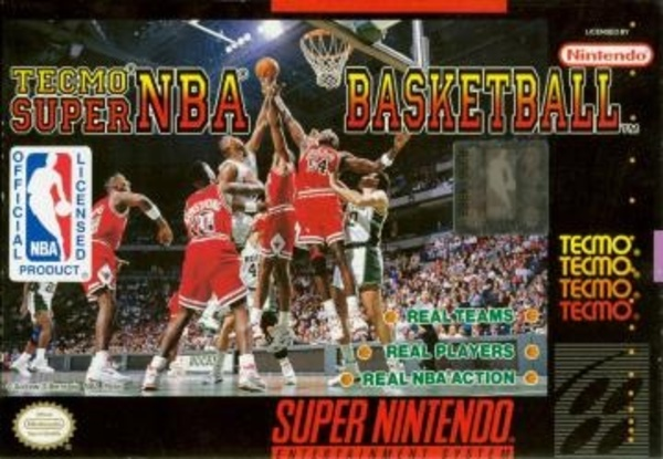 Cover zu Tecmo Super NBA Basketball